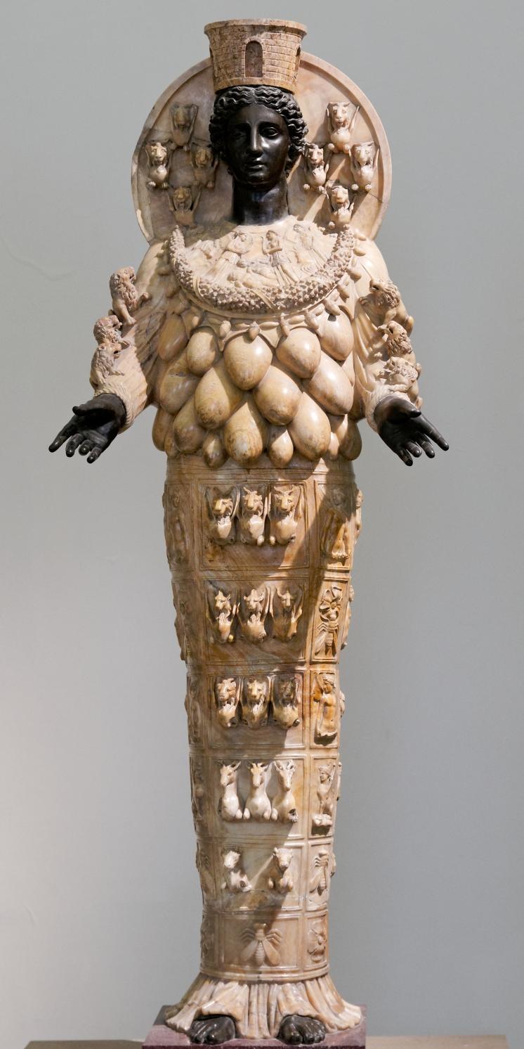 Statue d'Artémis Éphésia, IIe siècle, Musée de Naples